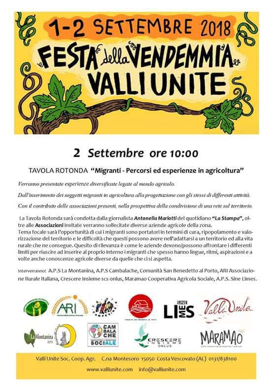 Festa della vendemmia a Costa Vescovato (AL)